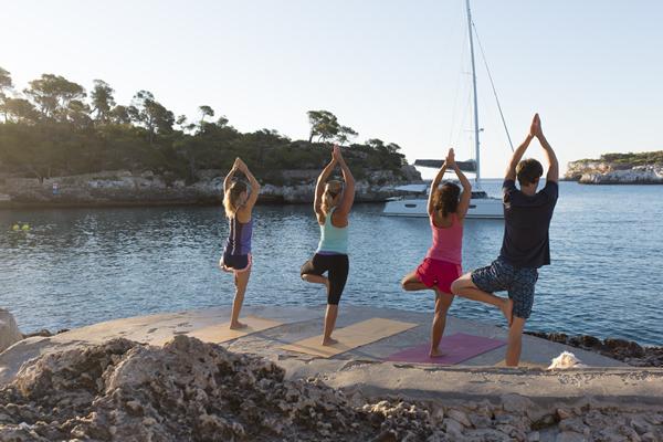 Mallorca Yoga am Meer Urlaub