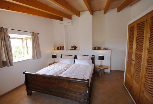 Schlafzimmer Mallorca Retreat Finca Urlaub